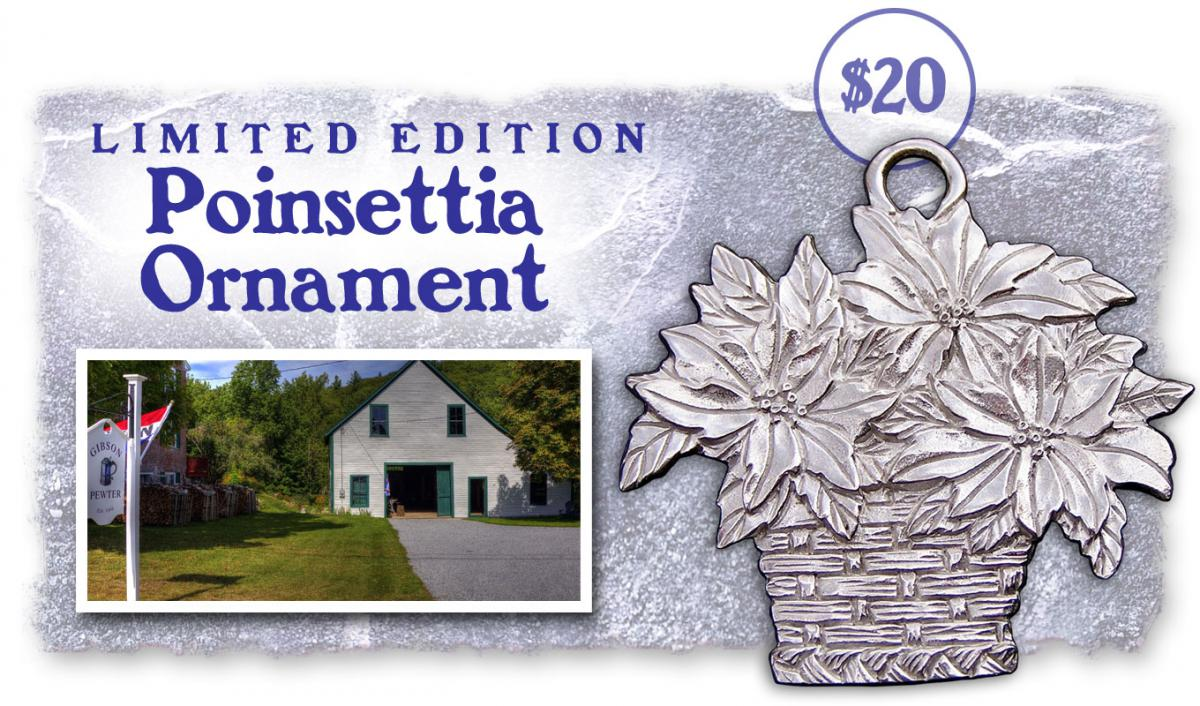 Reward - Poinsettia Ornament