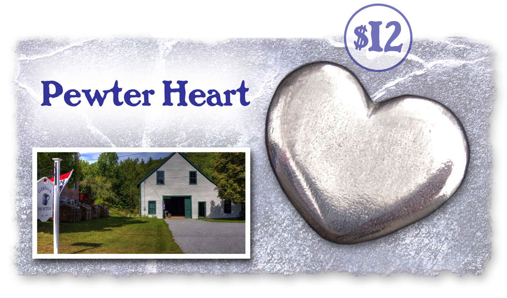 Reward - Pewter Heart