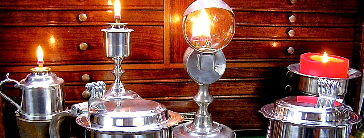 photo of Pewter Lamps & Candles