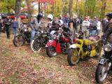 6th Annual Pewter Run vintage motorcycle race