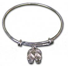 Bangle Bracelet with FlipFlops charm