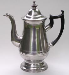 Photo of R. Gleason Pear-Shaped Coffeepot