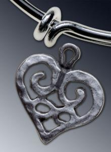 Heart charm - Large
