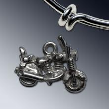 Motorcycle Charm