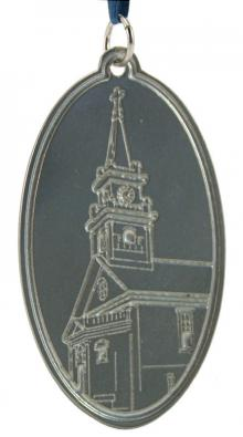 Photo of Smith Memorial Church Pewter Ornament