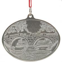 Photo of Carr Stone Arch Bridge Pewter Ornament
