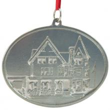 Photo of Fuller Community Building Pewter Ornament