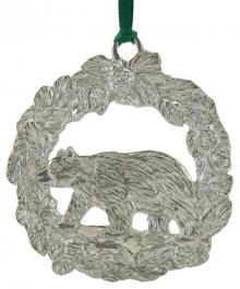 Photo of Black Bear Pewter Ornament