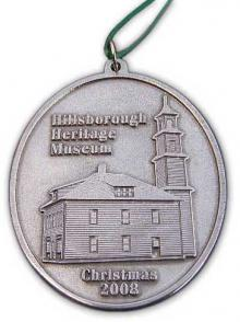 Photo of Hillsborough Heritage Museum Pewter Ornament