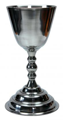 Pewter P. Young Chalice