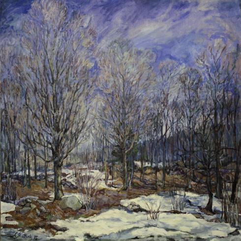 photo of painting - Early Spring by Sissi Shattuck
