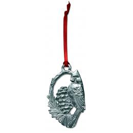 Pewter Cardinal Ornament