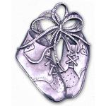 Pewter Baby Shoes Ornament