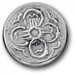 Pewter Button - Dogwood