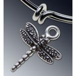 Dragonfly charm - Large