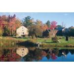 Photo of Reflecting Pond behind Gibson Pewter House & Barn